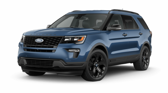 New 2019 Ford Explorer Sport SUV in Jamestown, NY